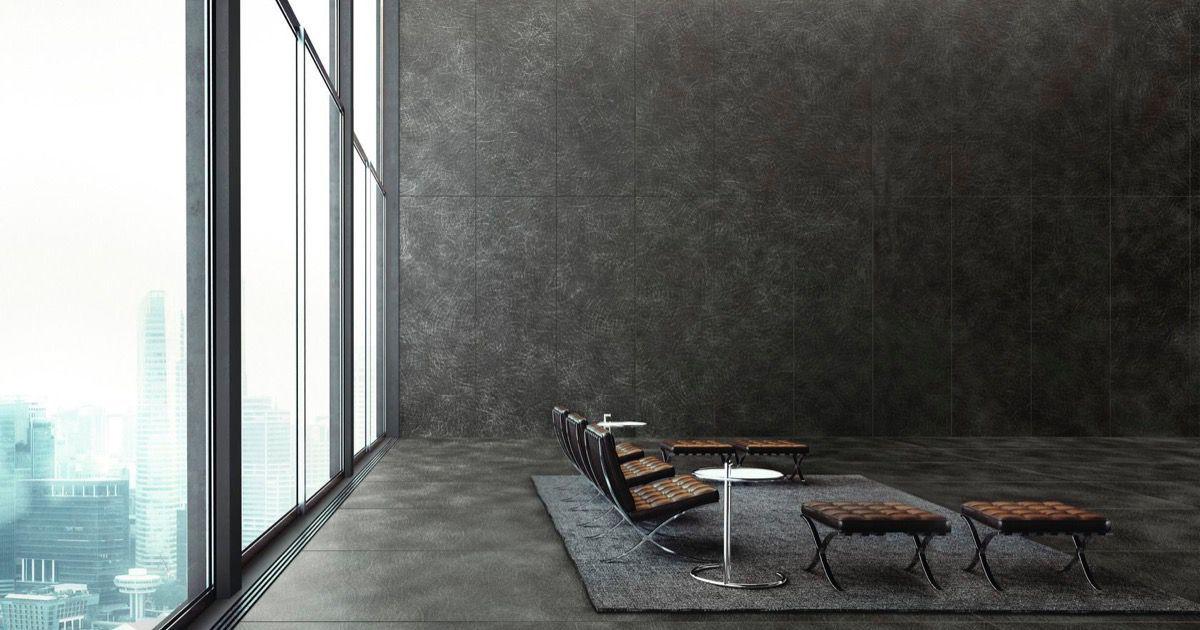 lamiera nera spazzolata ultra metal gro e platten metalleffekt schwarz. Black Bedroom Furniture Sets. Home Design Ideas
