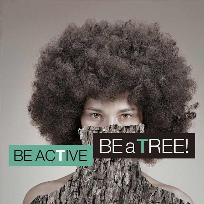 UMWELTBEWUSSTER FLASH MOB | BE ACTIVE BE a TREE!